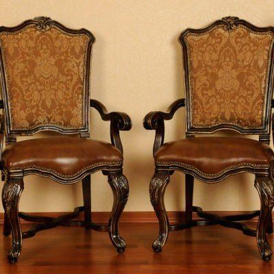 Krzesło z poręczami D55-AC