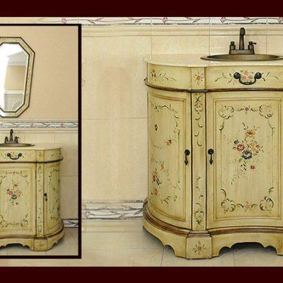 Komoda łazienkowa łącznie z umywalką i kranem K86-S